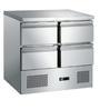Chladící stůl 4-zásuvkový MS-901 D4 - DOPRAVA ZDARMA