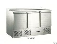 Chladící stůl - saladeta 3-dvéřová MS-1370 - DOPRAVA ZDARMA
