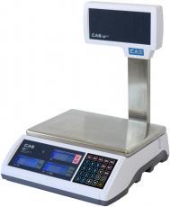 Obchodní váha ověřená 15kg s nožkou, ER-PLUS-15LP