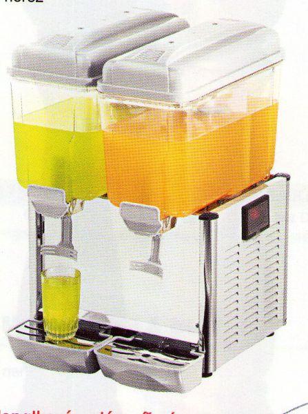 Výrobník a vířič chlazených nápojů 2x 12l C-2S - DOPRAVA ZDARMA