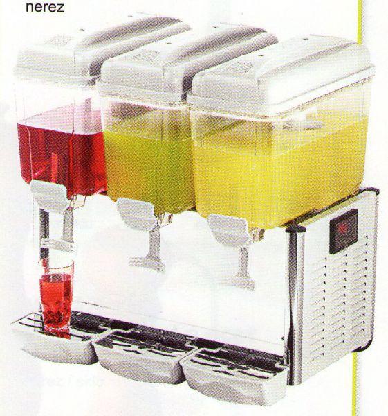 Výrobník a vířič chlazených nápojů 3x 12l C-3S - DOPRAVA ZDARMA