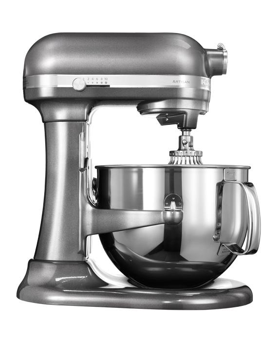 Universální kuchyňský robot KITCHEN AID ARTISAN KSM-7580 stříbřitě šedá - DÁREK + DOPRAVA ZDARMA