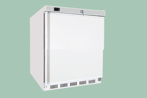 Chladící skříň bílá 130l - HR-200 - DÁREK + DOPRAVA ZDARMA