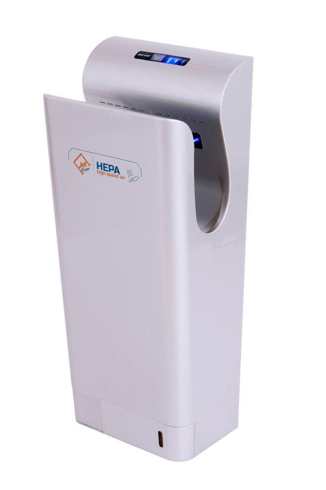 Vysoušeč/osoušeč rukou Jet Dryer Style - stříbrný - DÁREK + DOPRAVA ZDARMA