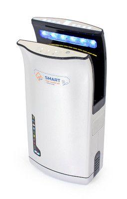 Vysoušeč/osoušeč rukou Jet Dryer SMART - stříbrný - DÁREK + DOPRAVA ZDARMA
