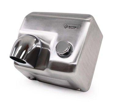 Vysoušeč/osoušeč rukou Jet Dryer BUTTON - stříbrný - DOPRAVA ZDARMA