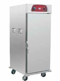 Ohřívací skříň na pokrmy pojízdná 11x GN 2/1