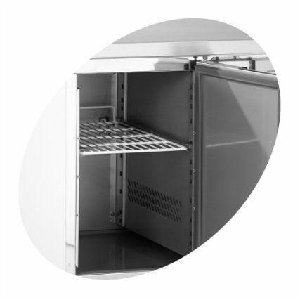Chladící stůl 2-zásuvkový + dveře GS91/2 - DÁREK + DOPRAVA ZDARMA