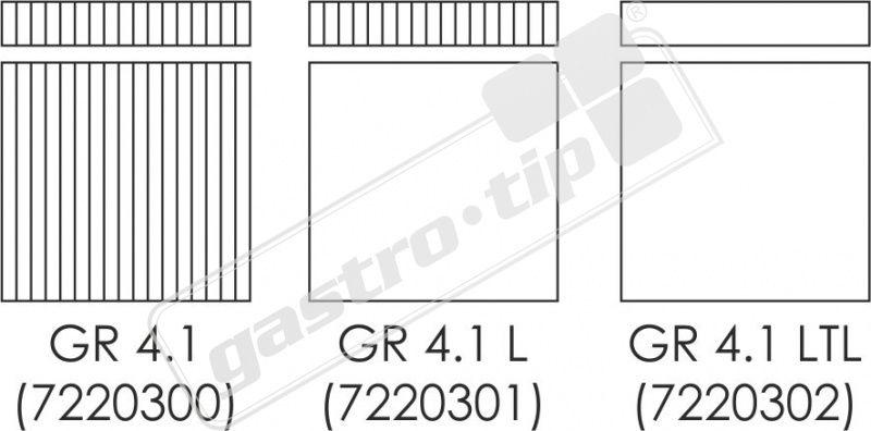 Kontaktní gril GR-4.1 - DÁREK + DOPRAVA ZDARMA - 3 VARIANTY PLOTNY