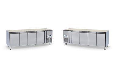 Mrazící stůl 4 dvéřový bez desky NORDLINE GN-4100 BT UNIVERSAL - DÁREK + DOPRAVA ZDARMA