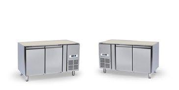Chladící stůl 2 dvéřový bez desky NORDLINE GN-2100 TN UNIVERSAL - DÁREK + DOPRAVA ZDARMA