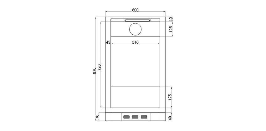 Chladící skříň 116l - prosklené dveře - DÁREK + DOPRAVA ZDARMA - TEFCOLD - DB-125 H-I