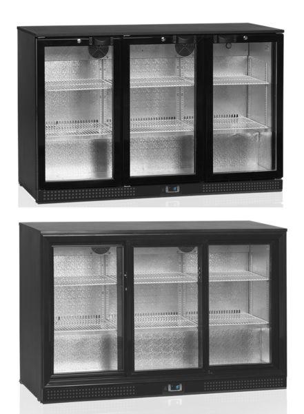 Chladící skříň DB-300 S/H - nápojová vitrína - DÁREK + DOPRAVA ZDARMA - VARIANTA DVEŘÍ